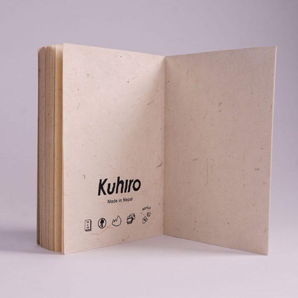 Kuhiro Sketchbook Slim Back