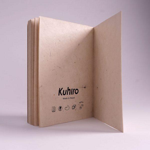 Kuhiro Sketchbook Classic Back